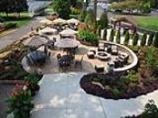 Large Entertaining Patio with Firepits